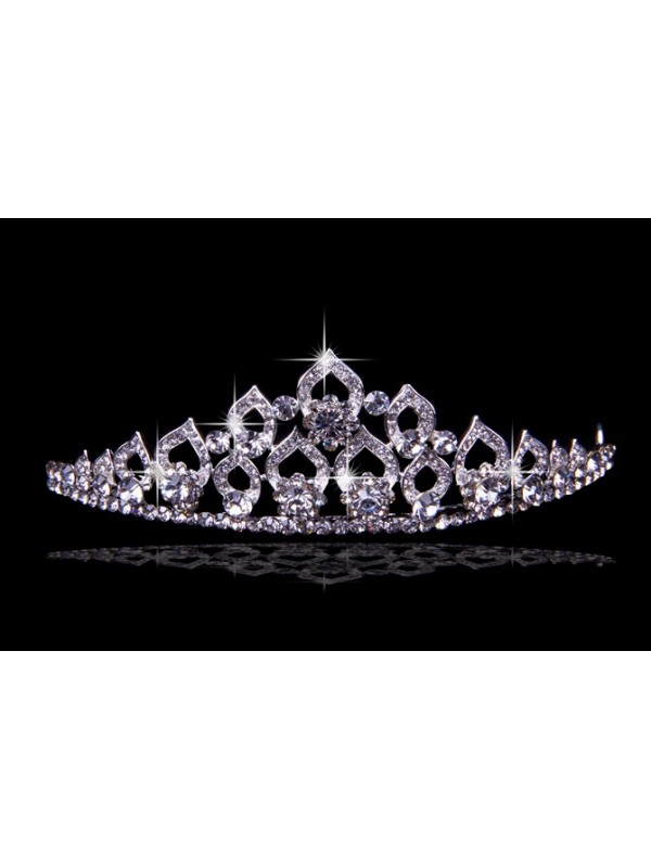 Glamorous Alloy With Czech Strasssteines Wedding Party Headpiece