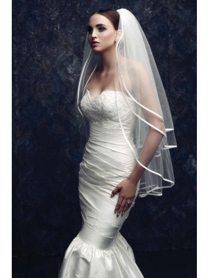 Gorgeous 3 Layer Tüll Bridal Veils